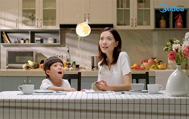 美的蒸烤箱广告片